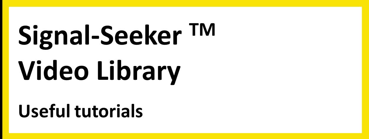Signal-Seeker_Video_Library_1