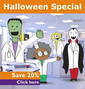 Halloween Special: Save 20% off 2 or more items!