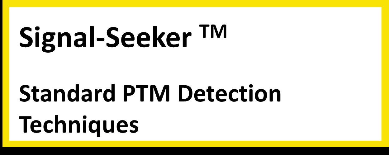 PTM detection techniques