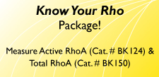 Know Your Rho Package