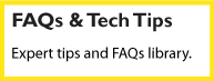 faq and tech tips