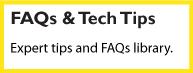 faq and tech tips