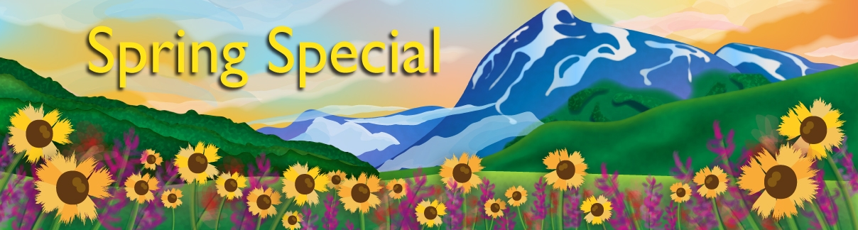 spring special header
